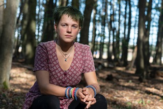 Lykke, activist at Hambacher Forest - Kerpen, 2018